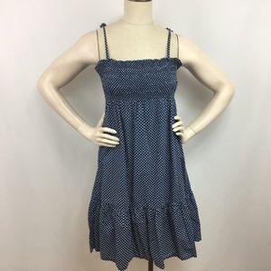 J.Crew Casual Midi Dress Size Medium Polka Dot